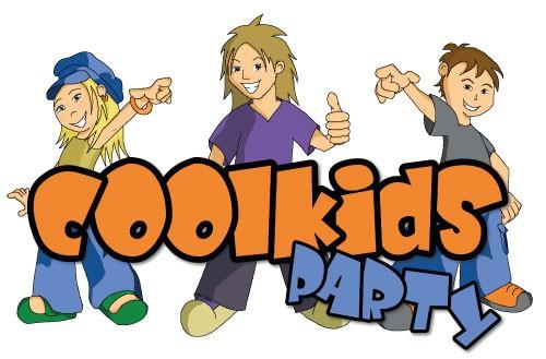 Kleurplaat Coolkids Party  Feestcommissie Hallum